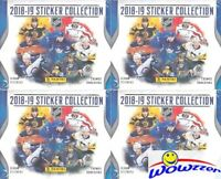 (4) 2018/19 Panini Hockey Factory Sealed 50 Pack Sticker Boxes-1,000 Stickers