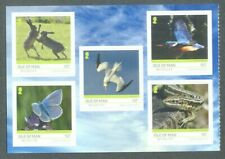 Isle of Man Wildlife-2019 self-adhesive booklet pane