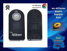 1 Télécommande de Type ML-L3 + 1 PILE Pour Nikon ( Voir Description )