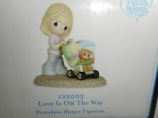 New MIB Precious Moments Love is on the Way Pregnancy New Baby Figurine 122005