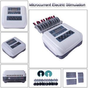 Microcurrent Body Shaper Firm Tone Fitness Electrode Stimulation Beauty Machine