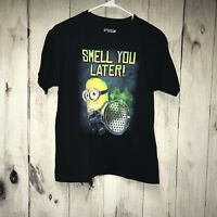 NEW Boys Licensed Despicable Me Minions Graphic Football Tee T-Shirt  2XL  18