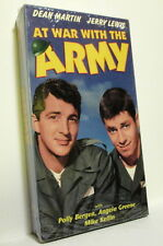 AT WAR WITH THE ARMY (VHS) Dean Martin Jerry Lewis Polly Bergen BRAND NEW SEALED