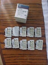 box of 10 GE AUXILIARY CONTACTS BLOCK BCLF10 box B