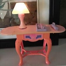 New listing RARE Vintage Barbie SWEET ROSES Desk Lamp Phone - Talking, Lights & Sound WORKS