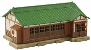 Rokuhan Z gauge S027-2 Galvanized iron roof private house (green) fromJAPAN