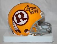 Sonny Jurgensen Signed Washington Redskins TB Mini Helmet W/ HOF - JSA W Auth