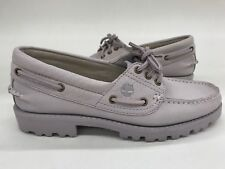 Timberland Women's Heritage Noreen Lilac 3 Eye Sample Size 7 Classic Nubuck