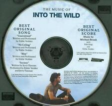 For Your Consideration Into Wild Original Score Promo FYC PROMO Music CD Pearl