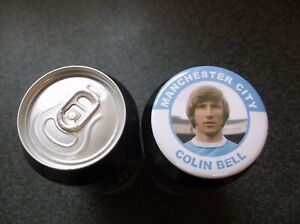COLIN BELL  MANCHESTER CITY FC  MAGNET  55mm in size