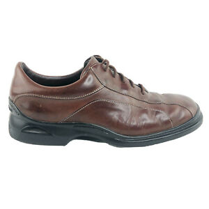Cole Haan Mens Leather Casual Brown Oxfords Air Soles Size 8.5