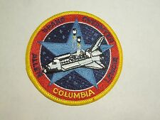 NASA Space Shuttle Mission STS-5 Columbia Astronaut Embroidered Iron On Patch