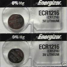 2 CR1216 Energizer Watch Batteries Lithium Battery Cell
