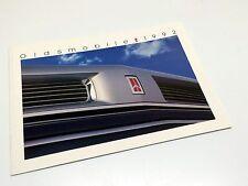 1992 Oldsmobile Bravada Cutlass Supreme Ciera Toronado Ninety-Eight Brochure