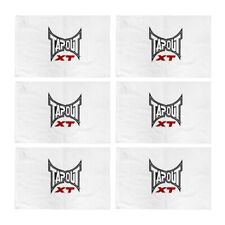 6 Pack Tapout XT Towel/ Workout Towel/ Yoga Towel/ Gym Towel 100% Cotton