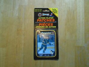 Jaromir Jagr Action Player Patches Pittsburgh Penguins  1993