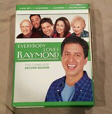 Everybody Loves Raymond - The Complete Second Season (DVD, 2004, 5-Disc Set)