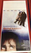 loc. Eternal Sunshine of the spotless mind 33x70 ristampa digitale tiratura lim.