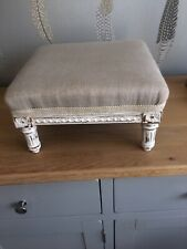 Pretty Antique Small French Foot Stool