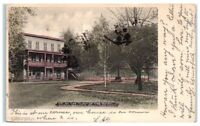 Early 1900s At the Turn of the Road, North Branch, Sullivan County, NY Postcard