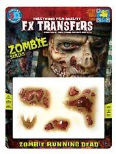 Tinsley 3D Waterslide Transfer NEW Zombie Running Dead Walking Halloween Makeup