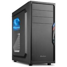 SHARKOON Case VS4-W Middle-Tower ATX / Micro-ATX / Mini-ITX Colore Nero (con Fin