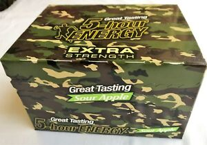5 Hour Sour Apple Extra Strength 12 Count Box 1.93 Oz Shots