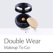 Estee Lauder Double Wear Makeup To Go Liquid Compact 6w1 Sandalwood NIB As Pics