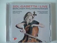 Berliner Philharmoniker Live von Sol Gabetta (2016), Neu OVP, CD