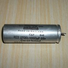 Vintage HUNTS  1000uF  25V Can Capacitor