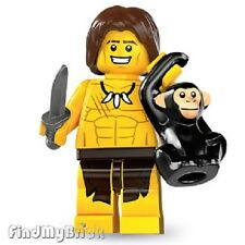 Lego Minifigure 8831 Series 7 - Jungle Boy Tarzan & Cheeta NEW