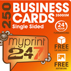 250 BUSINESS CARDS FULL COLOUR - 350gsm - FREE ARTWORK!