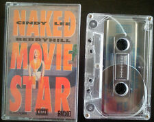 "CINDY LEE BERRYHILL ""NAKED MOVIE STAR"" AUSTRALIAN CASSETTE"
