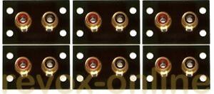 Abstandserweiterungen der Cinchbuchsen Revox A78