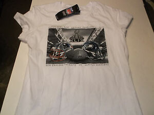Womens Super Bowl XLIX ( 49 ) Matchup babydoll  t-shirt L