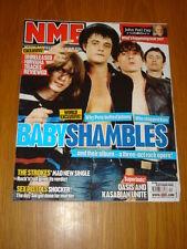 NME 2005 OCT 8 BABYSHAMBLES STROKES SEX PISTOLS OASIS