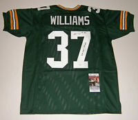 PACKERS Tyrone Williams signed jersey w/ SB XXXI Champs JSA COA AUTO Autographed