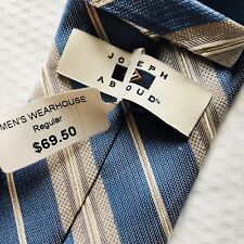 Tie For Mens Blue Light Joseph Abboud ,new