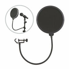 Flexible Mic Microphone Studio Wind Screen Pop Filter Mask Shied Gooseneck NewRW