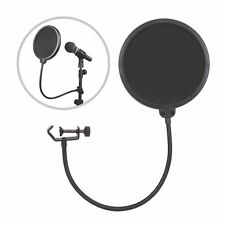 Flexible Mic Microphone Studio Wind Screen Pop Filter Mask Shied Gooseneck QP