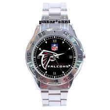 NEW NFL ATLANTA FALCON Custom Chrome Men Wrist Watch Men's Watches Gifts