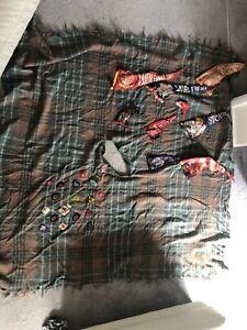 Vintage Boy Scouts Blanket Poncho