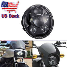 5.75 '' LED Projection Daymaker Headlight For Harley Sportster XL 883 1200 Dyna