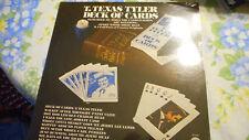 T Texas Tyler Deck Of Cards Sealed Vinyl LP 1976