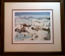 Will Moses Bear Mountain Inn   Limited Edition Framed Picture 227/500