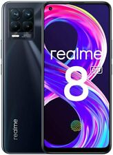 """Cellulare Smartphone Realme 8 PRO Dual Sim 128GB+8GB 6,4""""  Punk Black Nero"""
