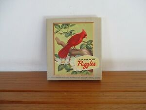 Complete Set of 4 @ 16 Piece Puzzles Believed produced by Springbok in 1964. Wil