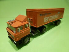 SOLIDO DAF F2800 TURBO TRUCK + TRAILER TER MEULEN POST 1:60? - VERY GOOD