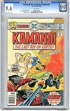 Kamandi #41 cgc 9.6 white pages