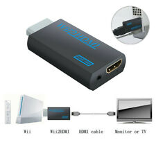 WII TO HDMI ADAPTER FULL HD WII2HDMI OUTPUT 1080P 720P CONVERTER 3.5MM AUDIO